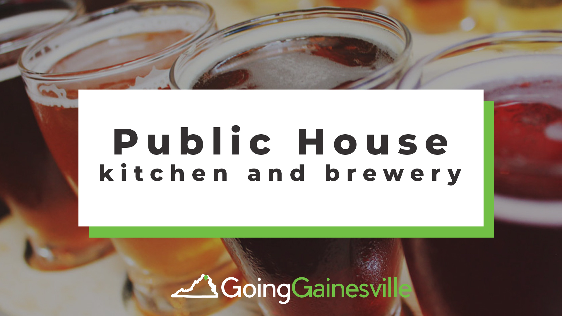 Public House Kitchen & Brewery